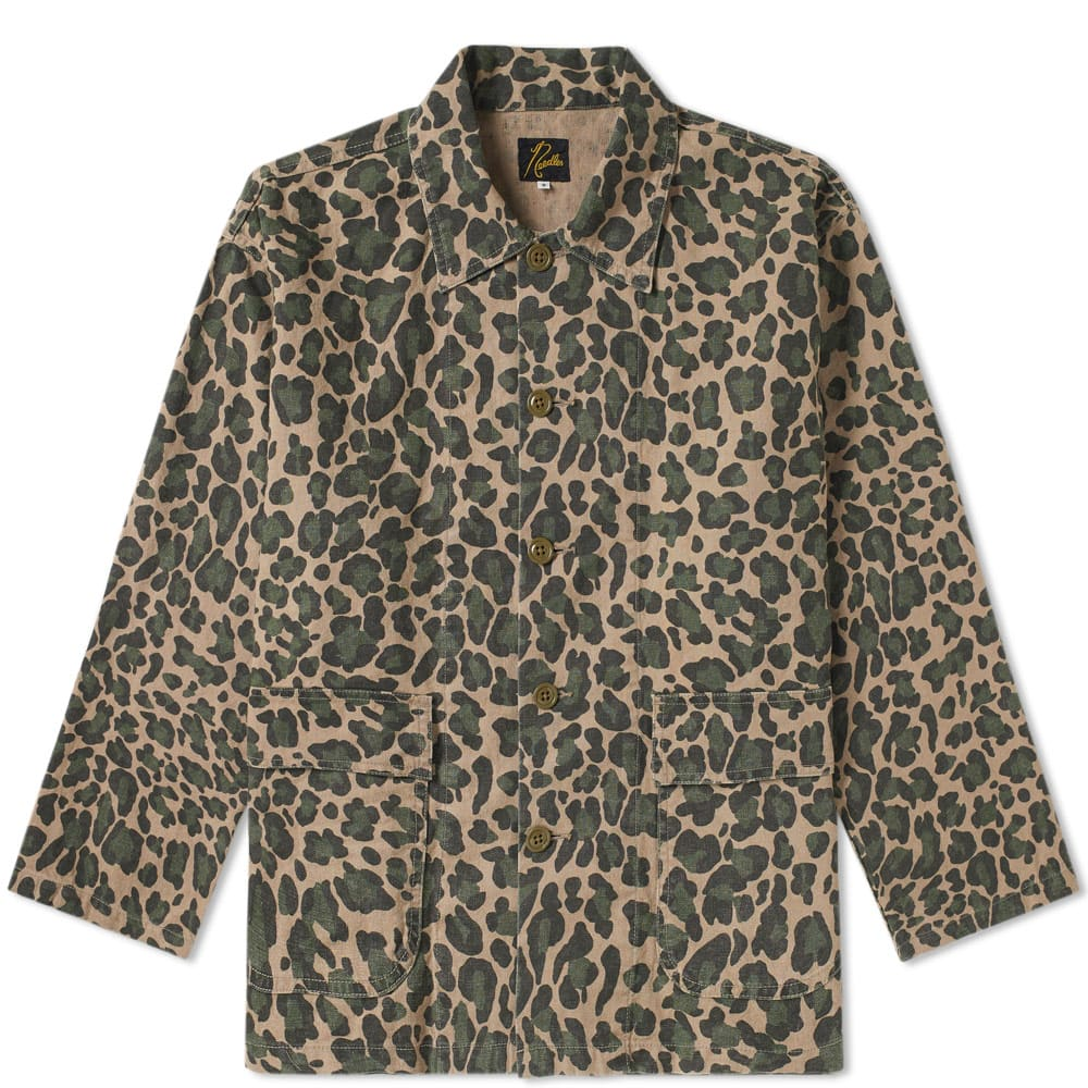 NEEDLES CAMOUFLAGE CHORE JACKET