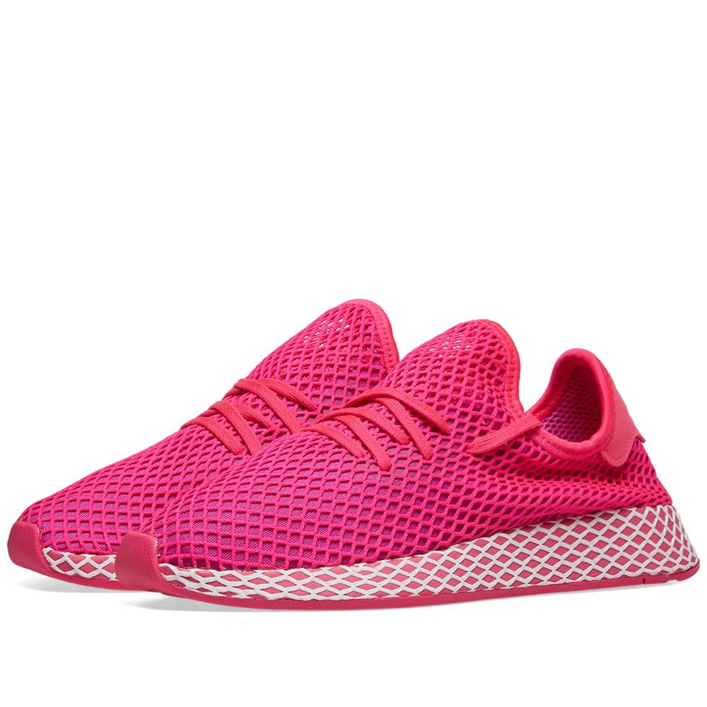 80208d9b8852d Adidas Deerupt Runner W Shock Pink
