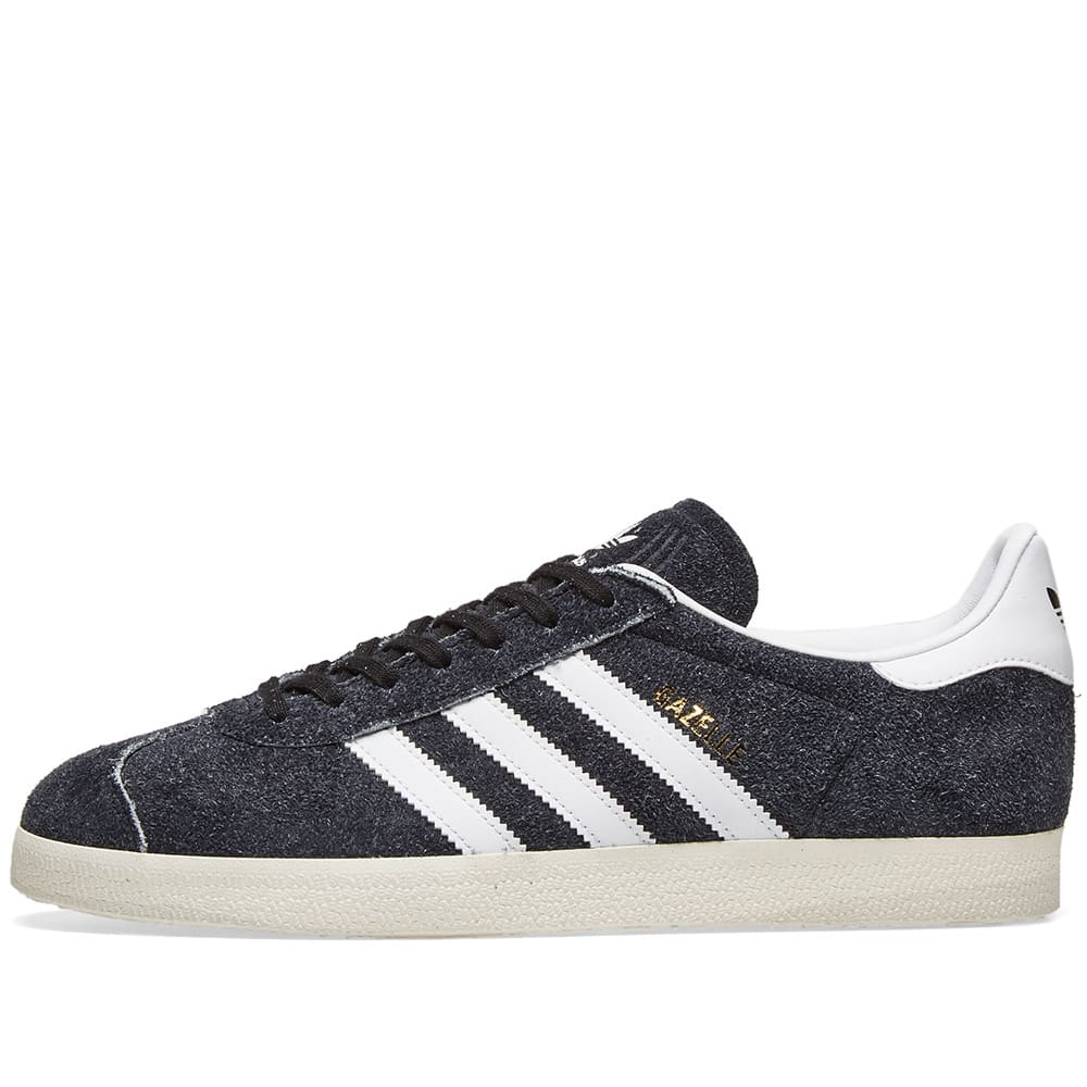 differently a4d68 f9689 Adidas Gazelle Vintage Core Black, White   Off White   END.
