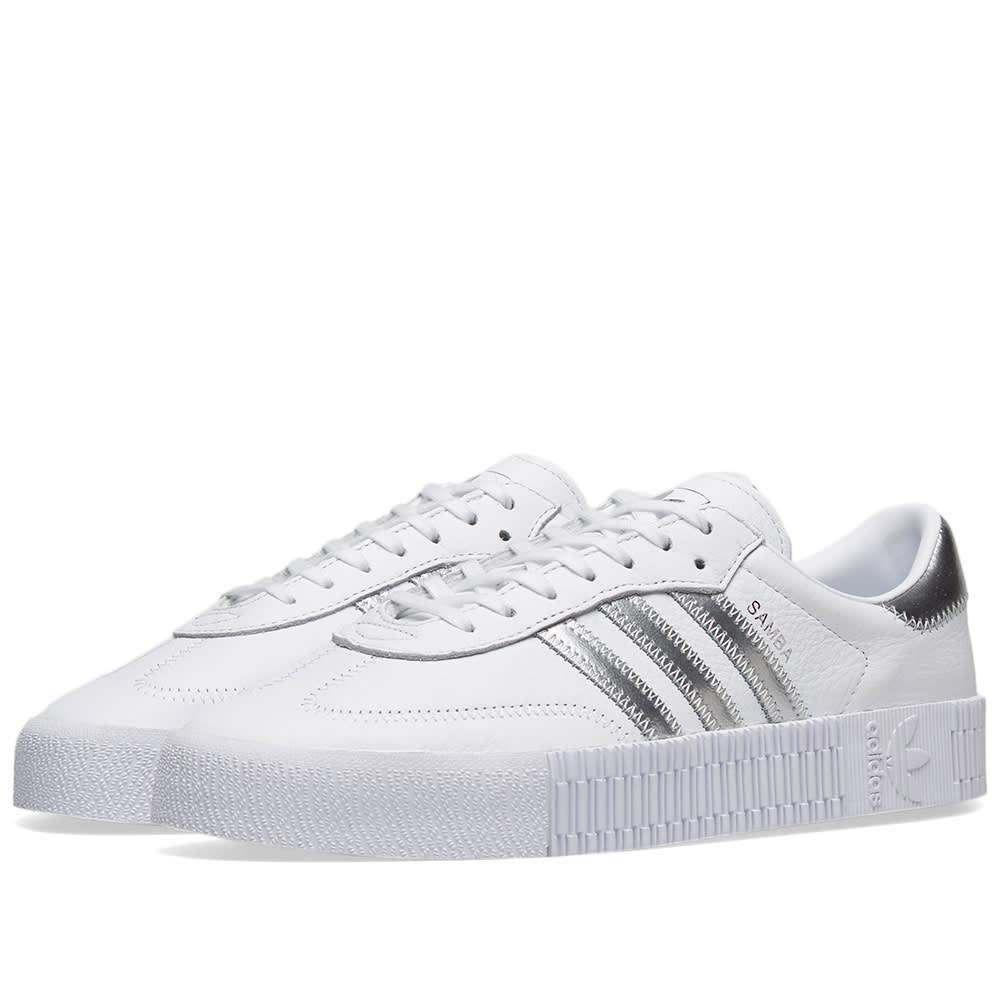54921853dd76 Adidas Sambarose W White