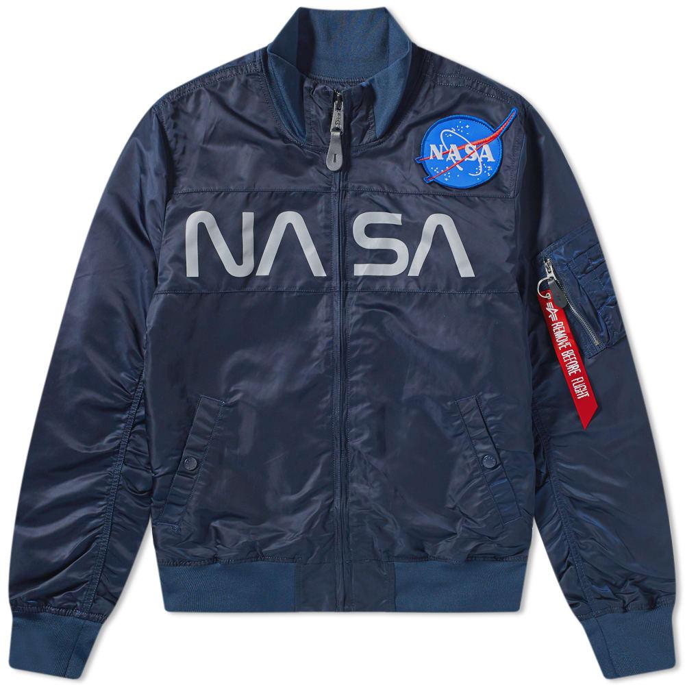 Alpha Industries Nasa Funnel Neck Jacket by Alpha Industries