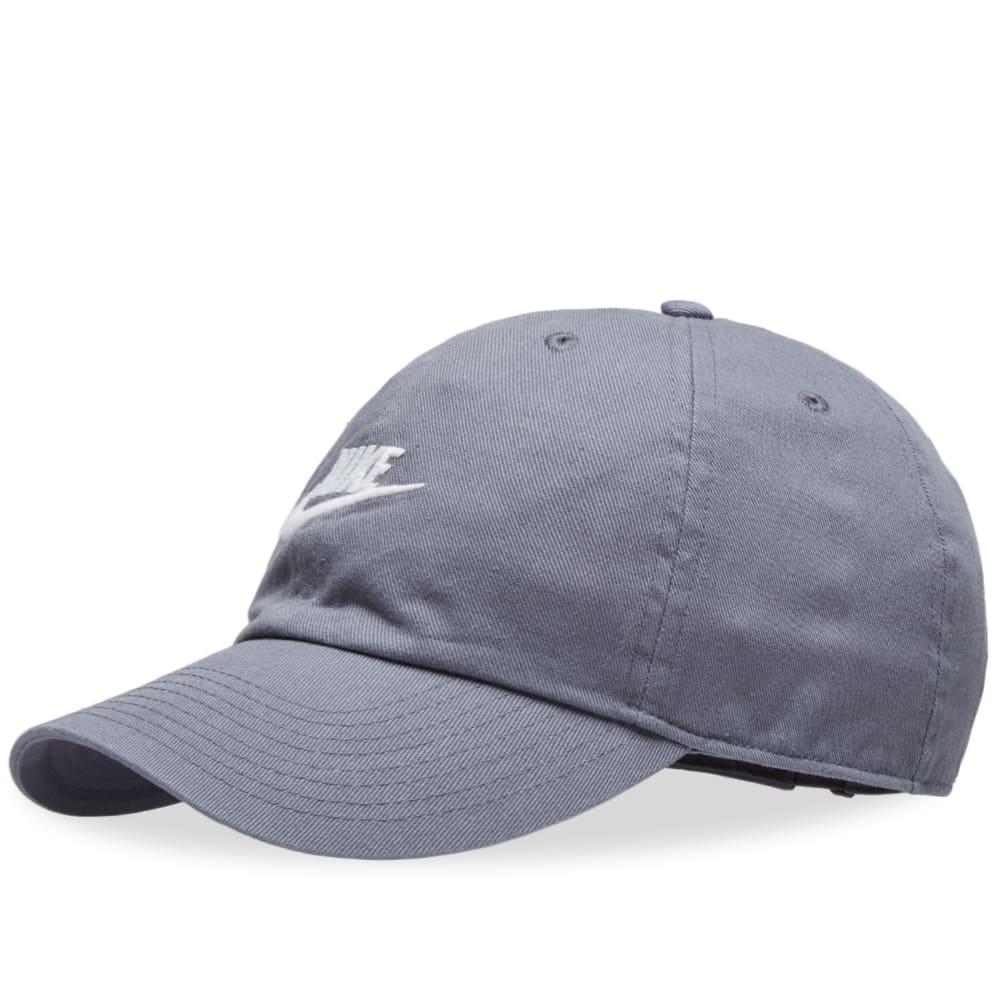 05ea9f2b5c3c Nike Futura Washed H86 Cap Armory Blue   White