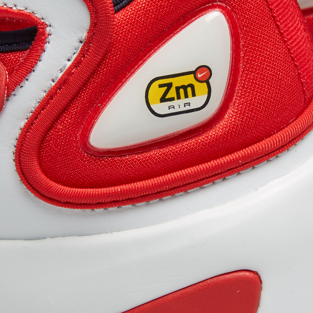 newest fda92 92dd1 Nike Zoom 2K. Off White, Obsidian   Red