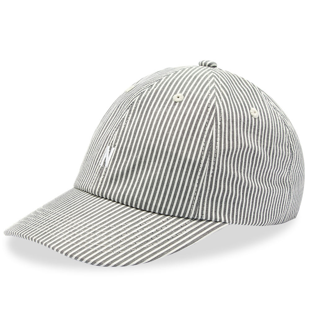 5bc964708 Norse Projects Seersucker Sports Cap Navy Stripe | END.