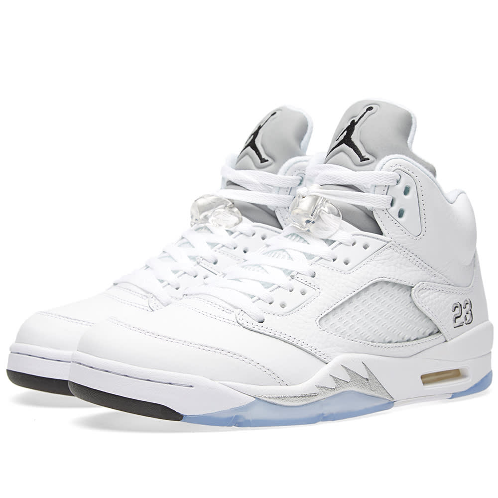 check out 994ce e46a9 Nike Air Jordan V Retro 'Metallic Silver'