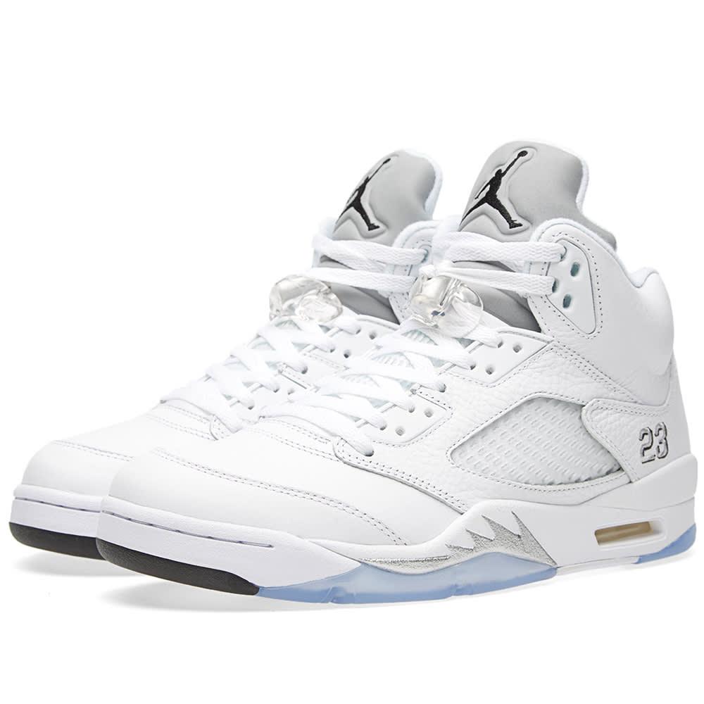 check-out 06559 89ed5 Nike Air Jordan V Retro 'Metallic Silver'