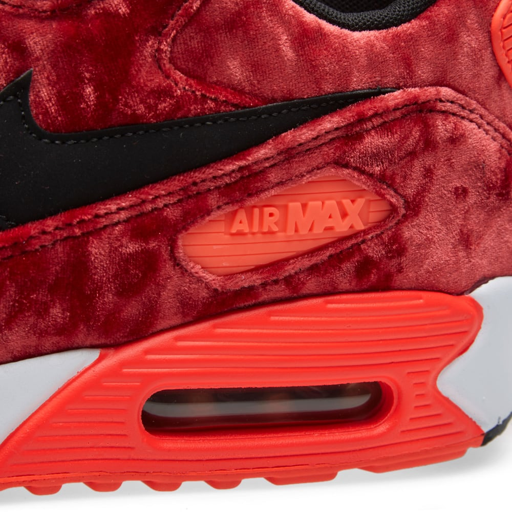 286f928d65 Nike Air Max 90 Anniversary 'Red Velvet' Gym Red, Black & Infrared | END.