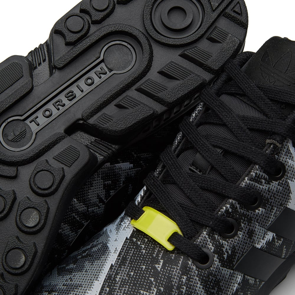 low priced 8ad50 3d509 Adidas ZX Flux Weave Core Black   Bright Yellow   END.