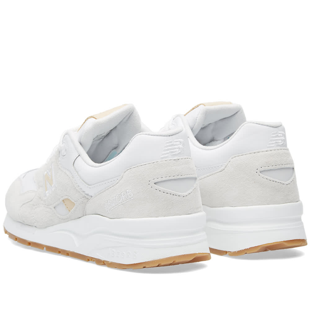 new products a4757 c5341 New Balance CM1600FB White & Tan | END.
