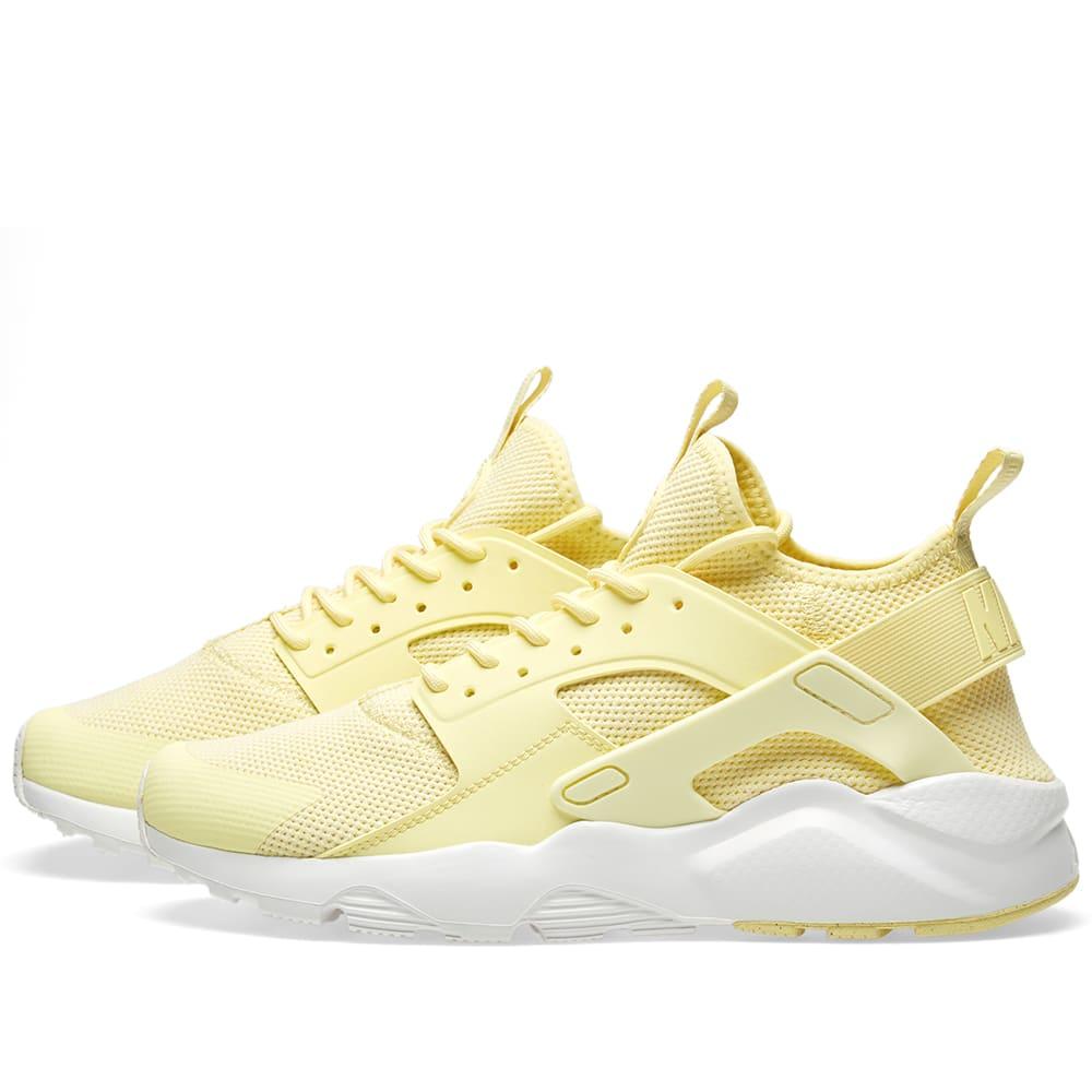 e54cc84076122 Nike Air Huarache Run Ultra BR Lemon Chiffon   Summit White