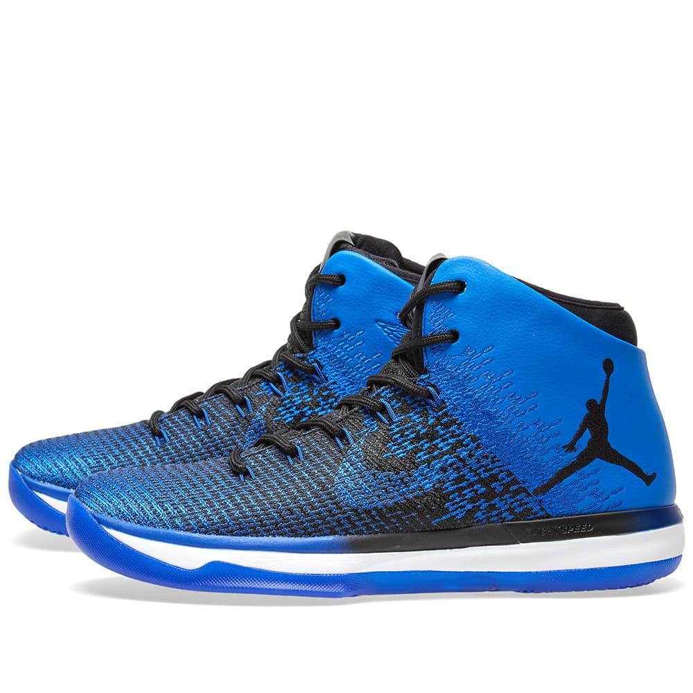 8f4571e287e6ee Nike Air Jordan XXXI Black   Game Royal
