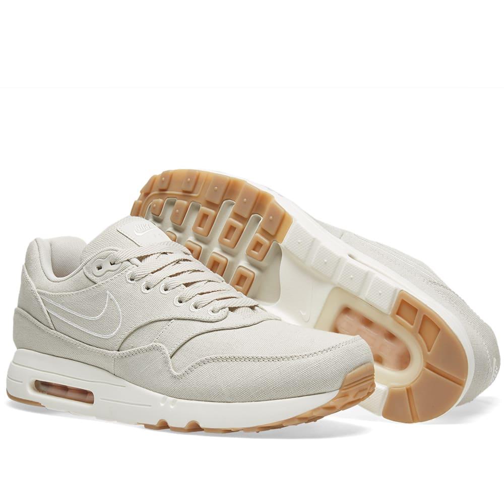 Air Max 1 Ultra 2.0 Textile 'Light Bone' Nike 898009 001