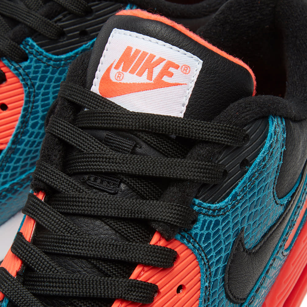 Nike Air Max 90 25th Anniversary Black Infrared & Dusty