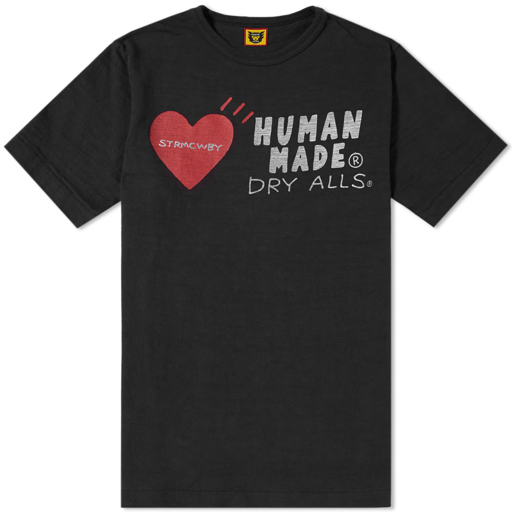 HUMAN MADE HEART LOGO TEE