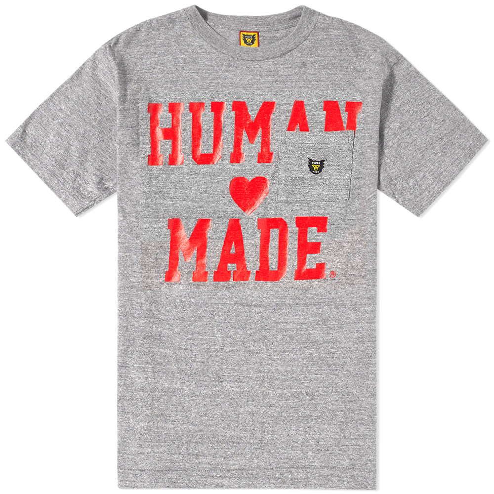 HUMAN MADE PRINT POCKET TEE