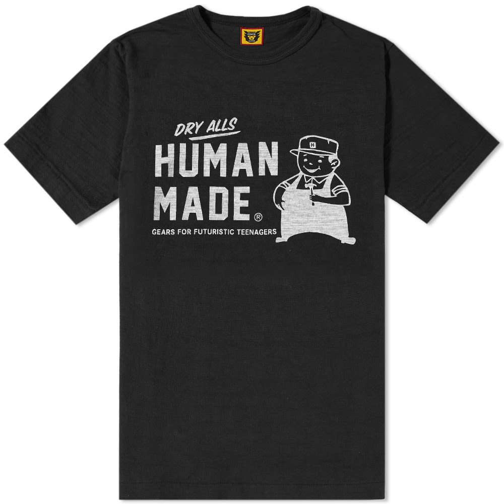 HUMAN MADE SERVICE & SUPPLY WORKER TEE