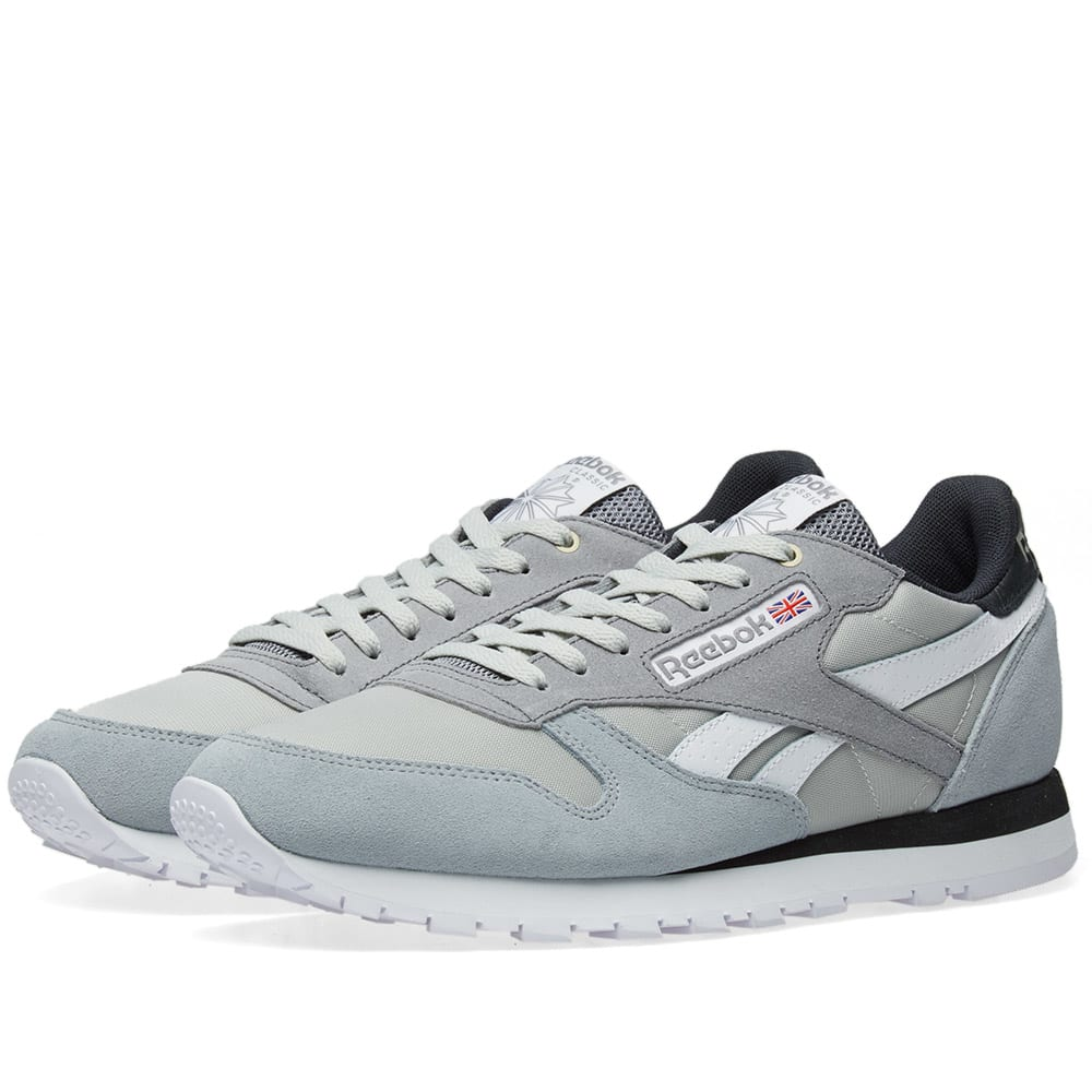 d72b2fe67534b Reebok x Montana Cans Paint Classic Leather Marble   Iron Curtain