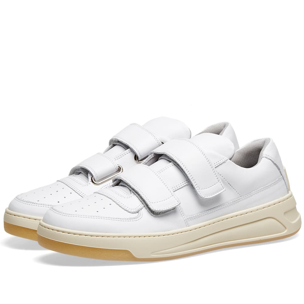 first rate a441a 430cf Acne Studios Perey Two Strap Sneaker