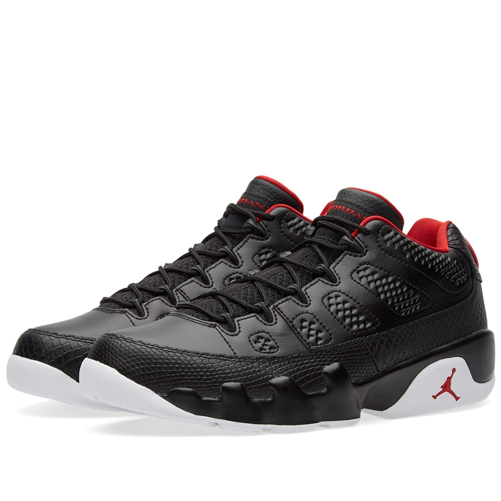 841b43f3da5a96 Nike Air Jordan 9 Retro Low Black