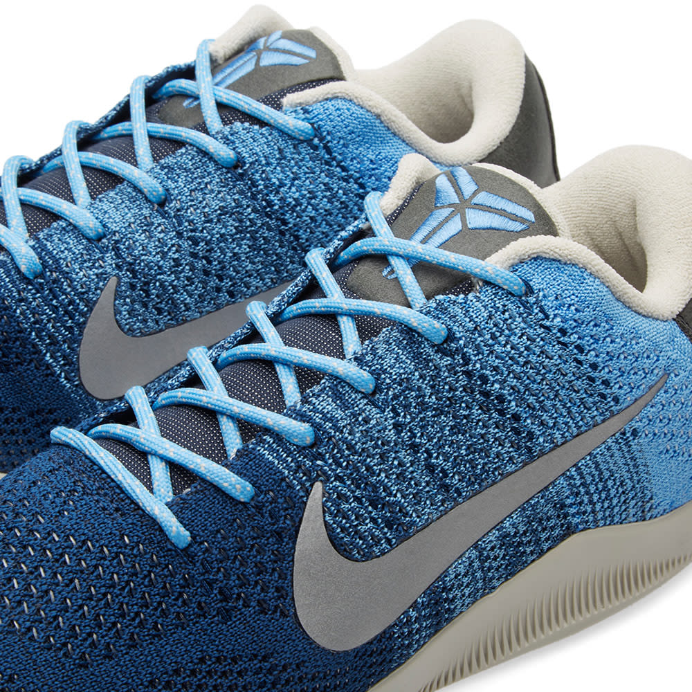 4eacacbe3af9 Nike Kobe XI Elite Low Brave Blue   Light Bone