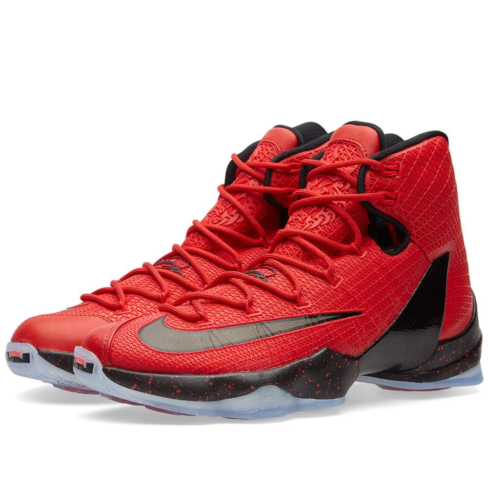 online store 9ee99 7dd76 Nike Lebron XIII Elite University Red   Black   END.