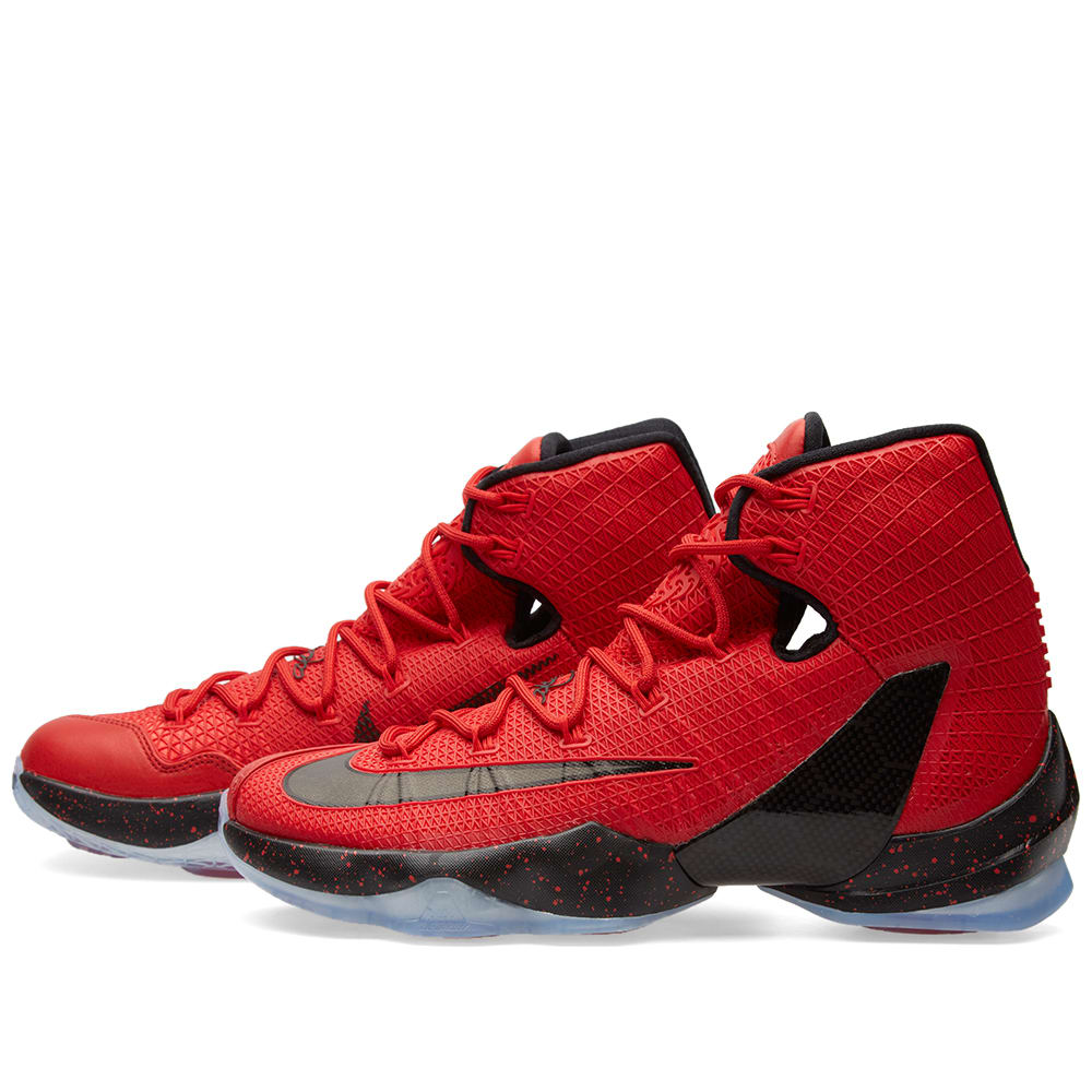 online store c8938 89abe Nike Lebron XIII Elite University Red   Black   END.