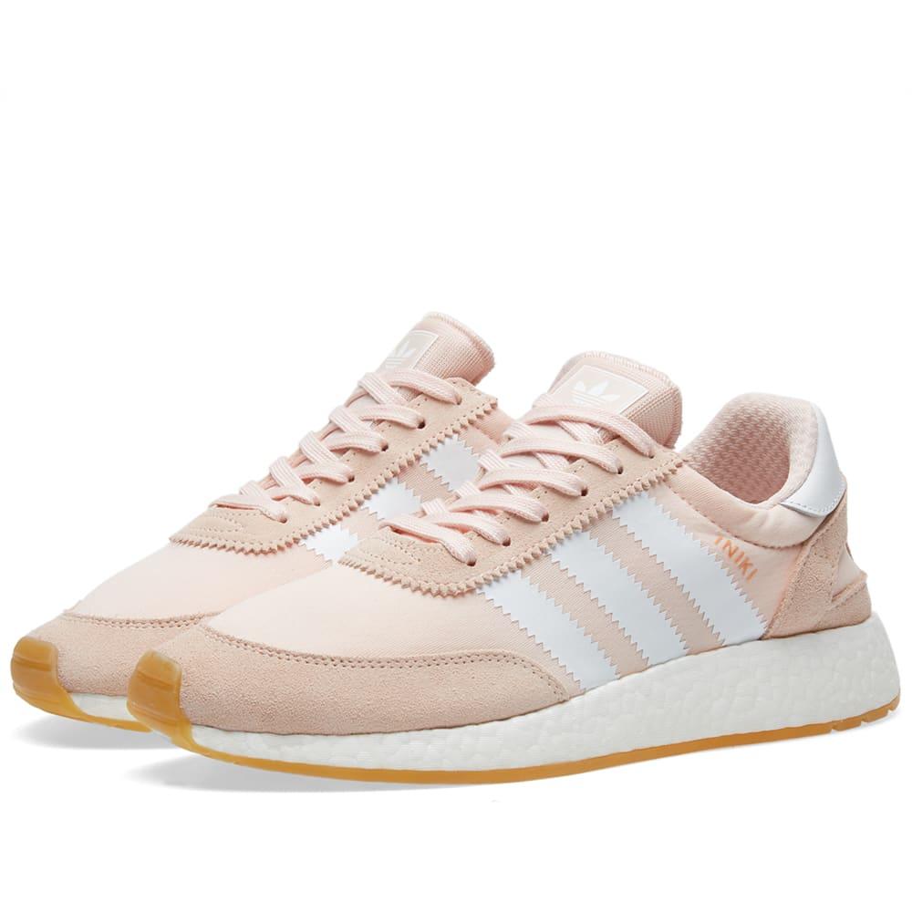 Existe Cesta distorsión  Adidas Iniki Runner W Icey Pink, White & Gum | END.
