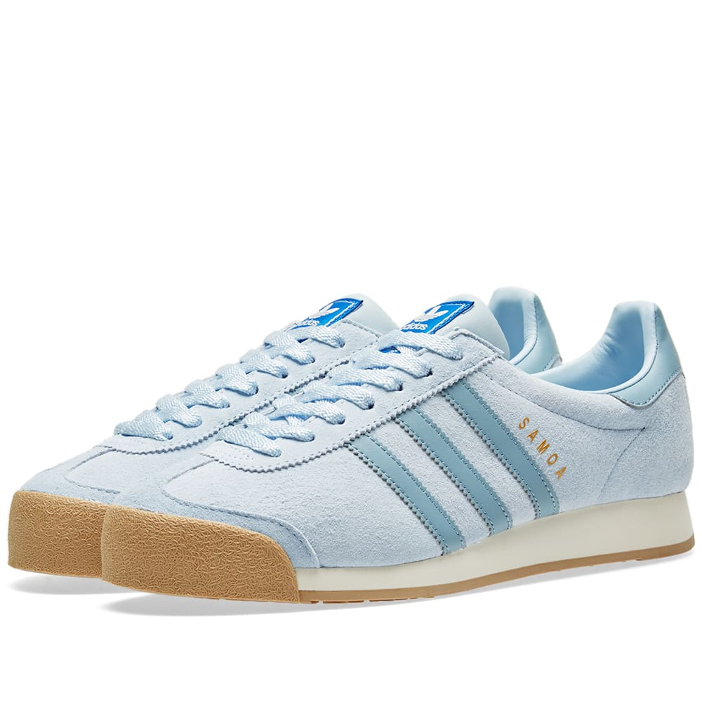 newest fe010 dda90 Adidas Samoa Vintage Tactile Blue   Chalk White   END.