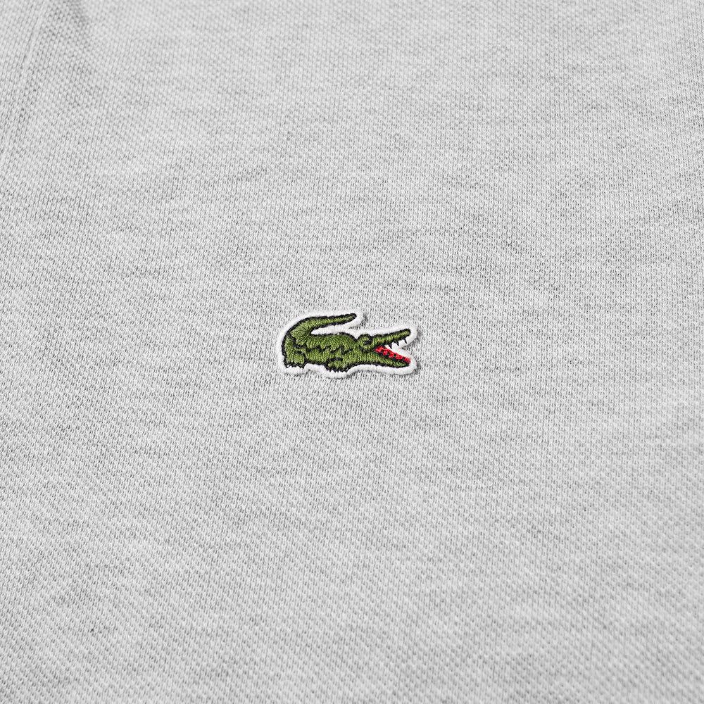 Pique Lacoste Sleeve Polo Marl Long PuOwlkTXZi