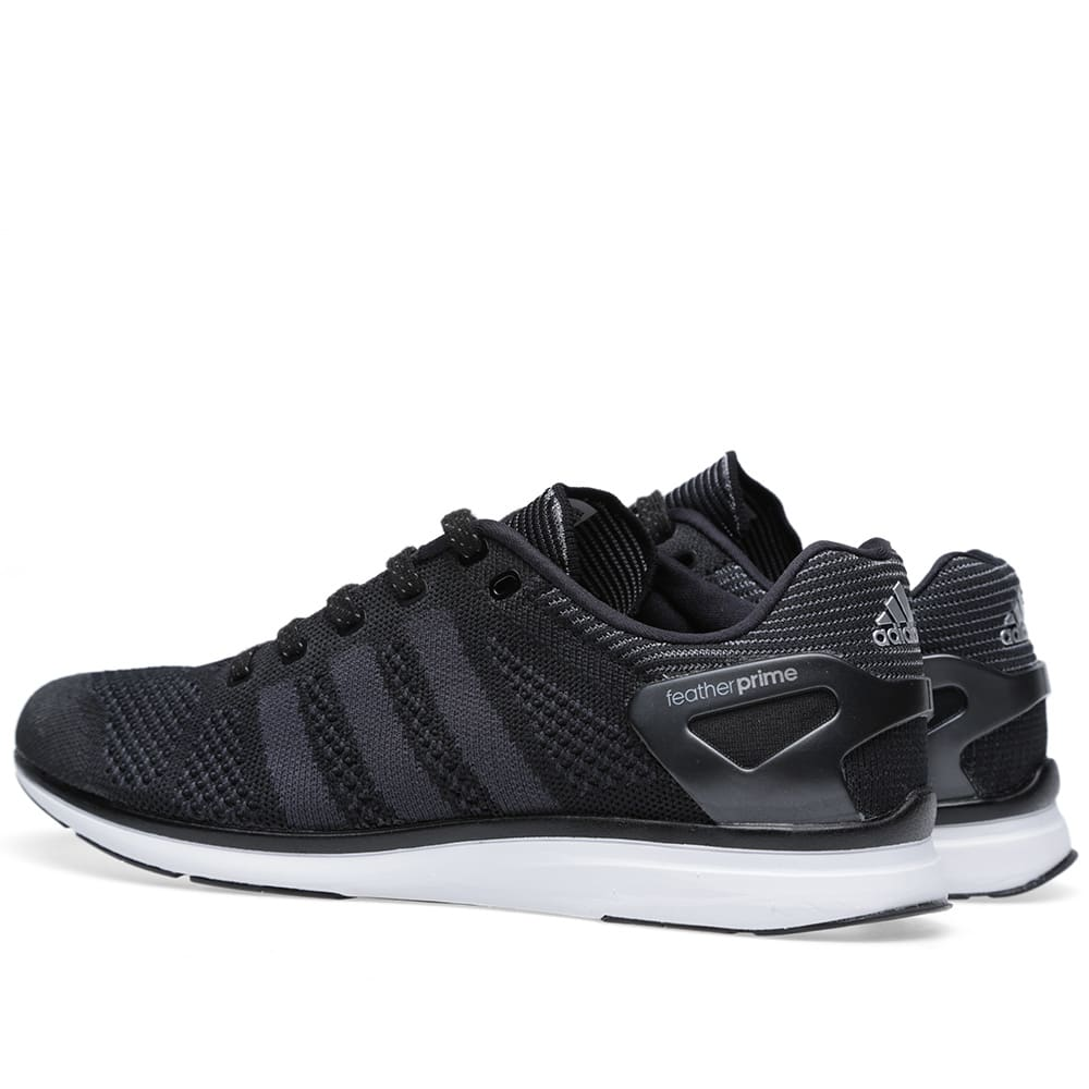 finest selection e96a2 bfdbe Adidas Adizero Feather Primeknit Black   Phantom   END.