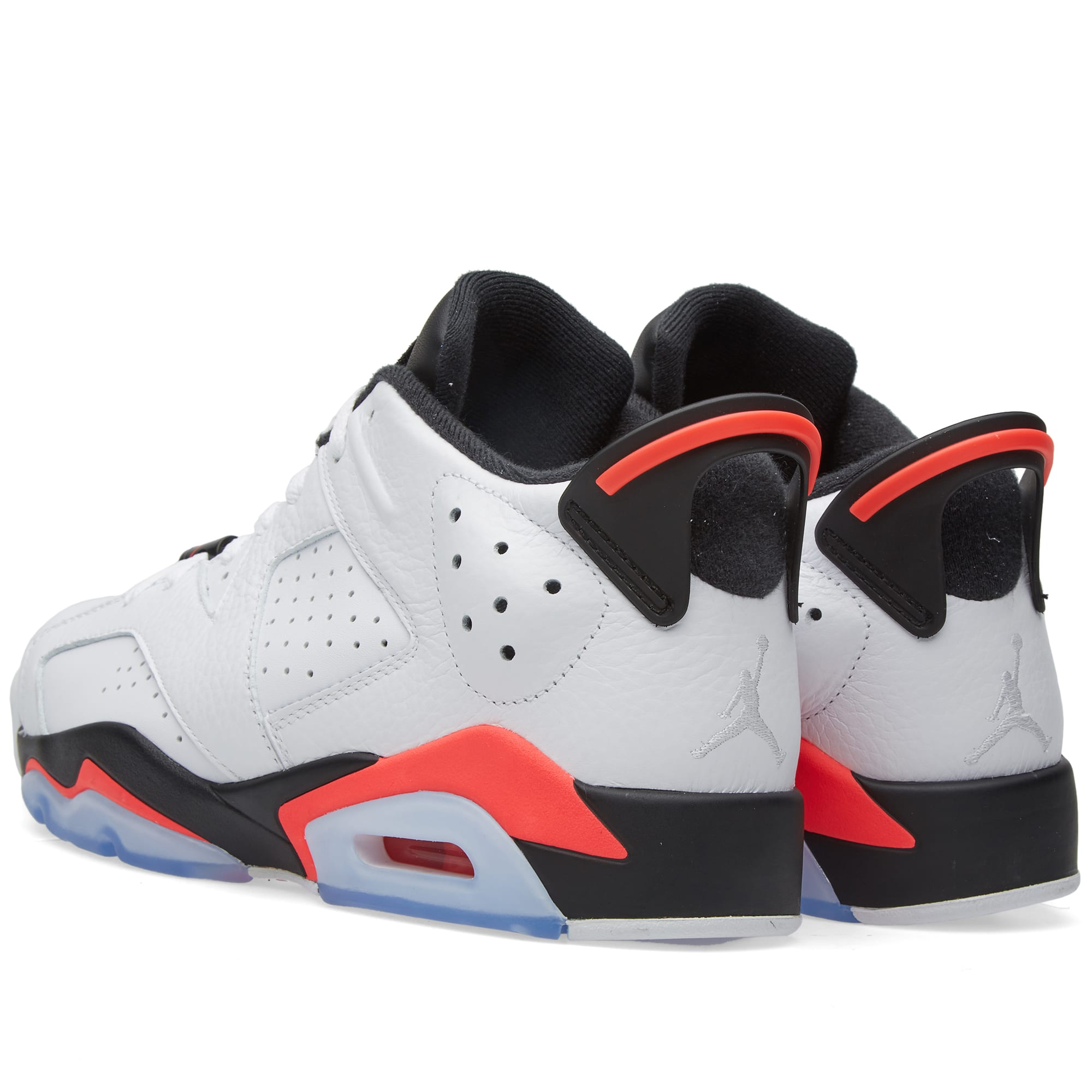classic fit 59707 f5aa4 Nike Air Jordan 6 Retro Low White, Infrared 23   Black   END.