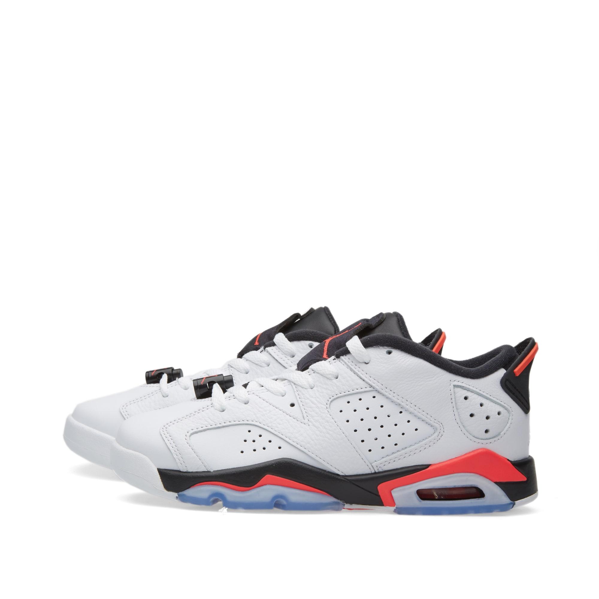 b2e4d556637281 Nike Air Jordan 6 Retro Low BG White
