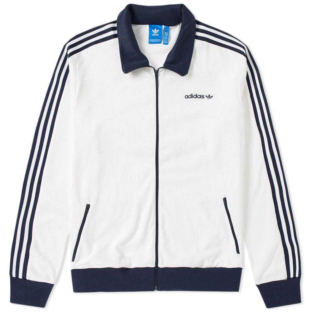Ortografía Maravilla Susurro  Adidas Beckenbauer Track Top White | END.