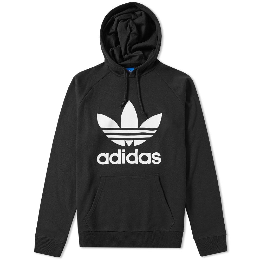 adidas Originals Trefoil Hoodie | Black | Pullover hoodies