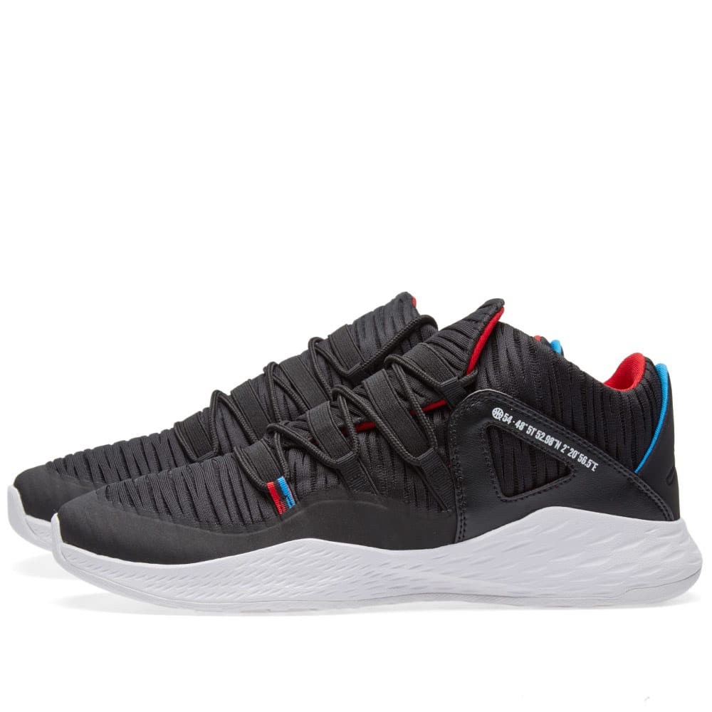 new arrival 704c2 1a736 Nike Air Jordan Formula 23 Low Q54 Black, Italy Blue   Red   END.