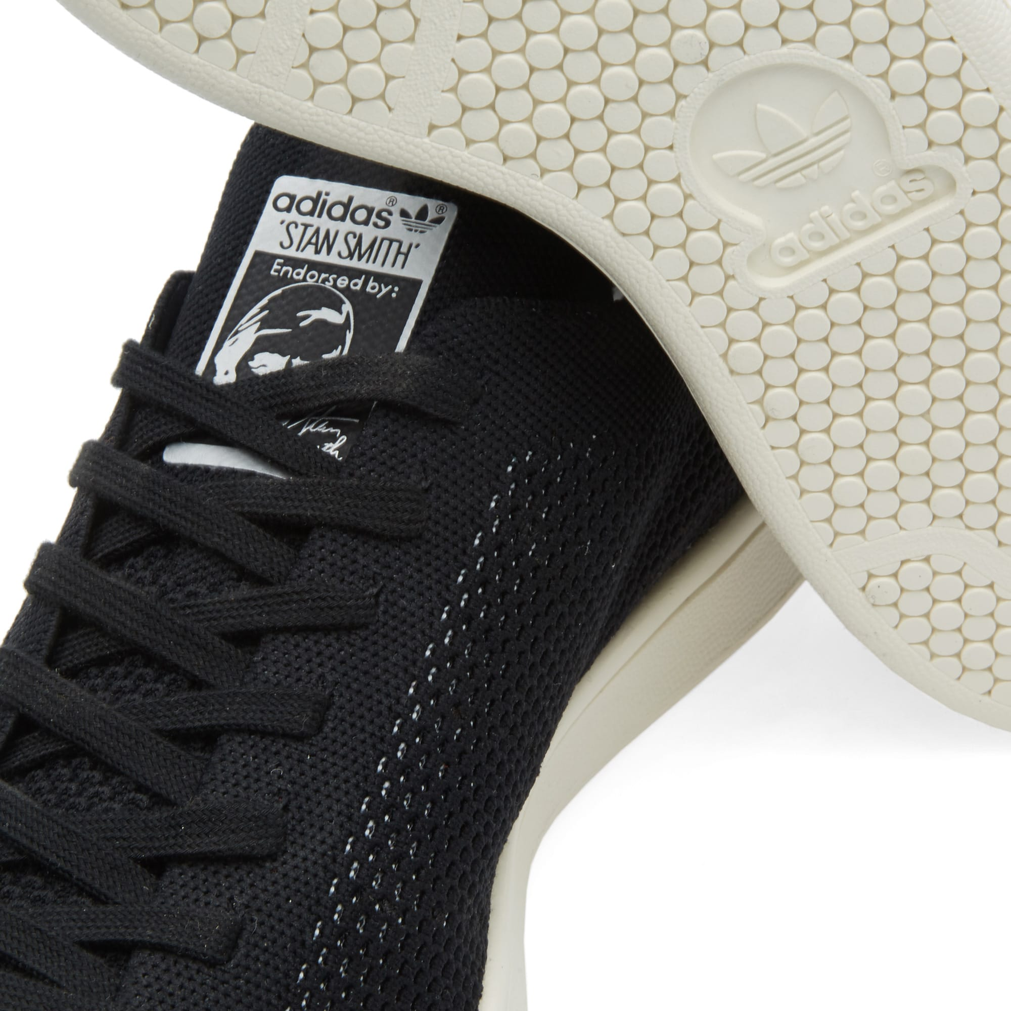 uk availability 8e527 ba790 Adidas Consortium Stan Smith Primeknit Reflective Black   END.