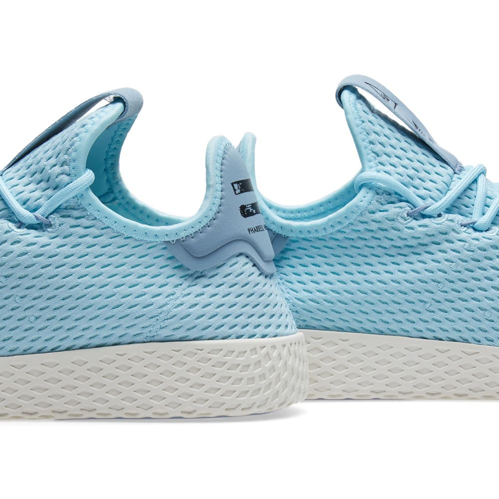 e3694d3b9bb63 Adidas x Pharrell Williams Tennis HU Ice Blue
