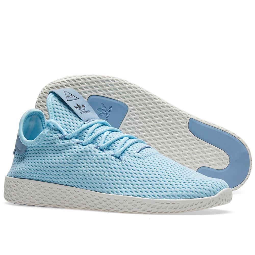 6c5bebd36 Adidas x Pharrell Williams Tennis HU Ice Blue