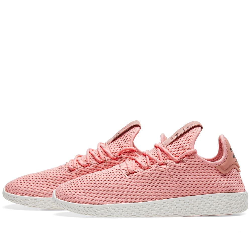 9bd0f9aba59df Adidas x Pharrell Williams Tennis HU Tactile Rose   Raw Pink