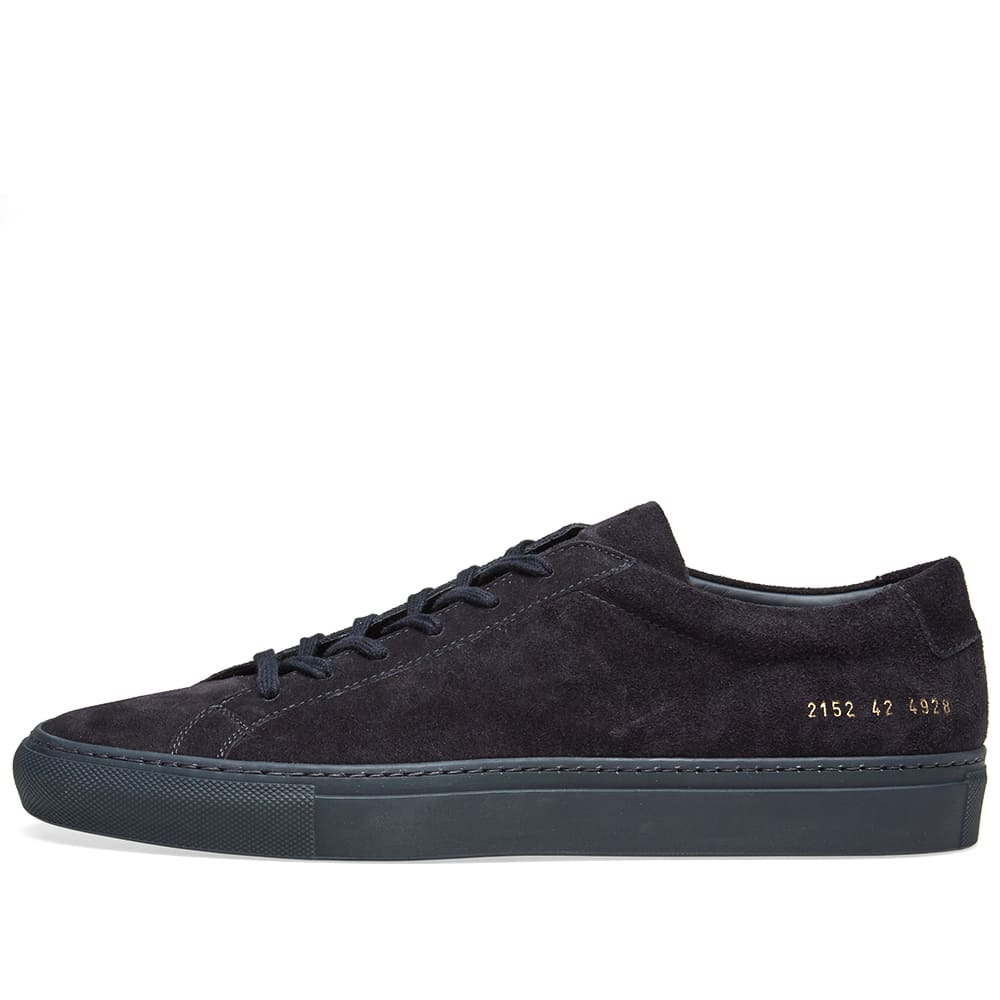 huge selection of 71c11 83a80 Common Projects Original Achilles Low Suede Navy   END.