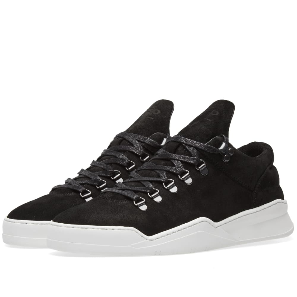 FILLING PIECES MOUNTAIN CUT GHOST WAXED SUEDE SNEAKER