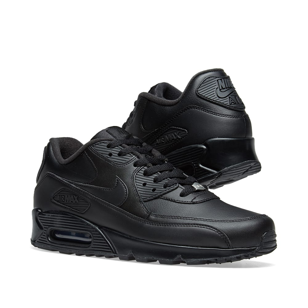 new product 8e455 c0a94 Nike Air Max 90 Leather. Black
