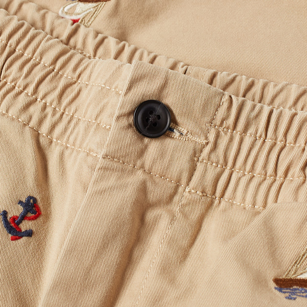 Embroidered Ralph Chino Lauren Short Polo QBodxCEreW