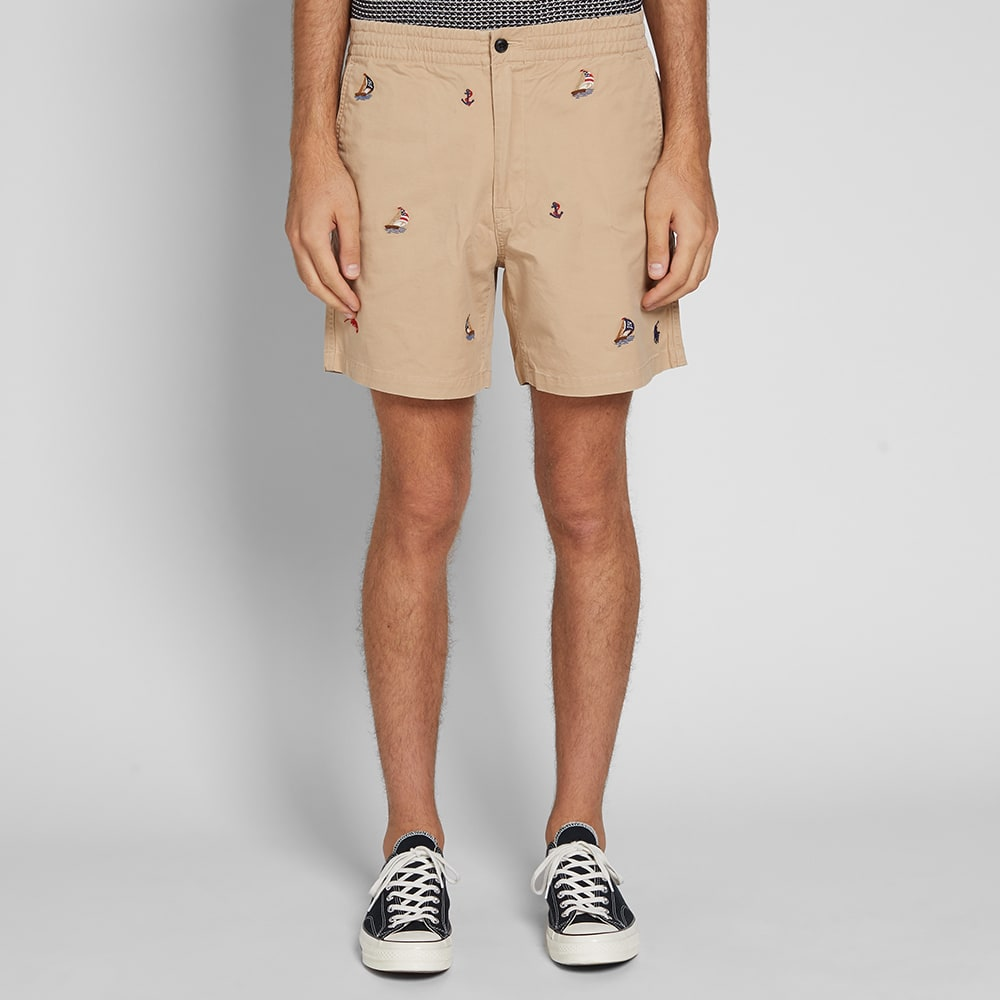 Chino Short Embroidered Lauren Polo Ralph MqSUzpVG