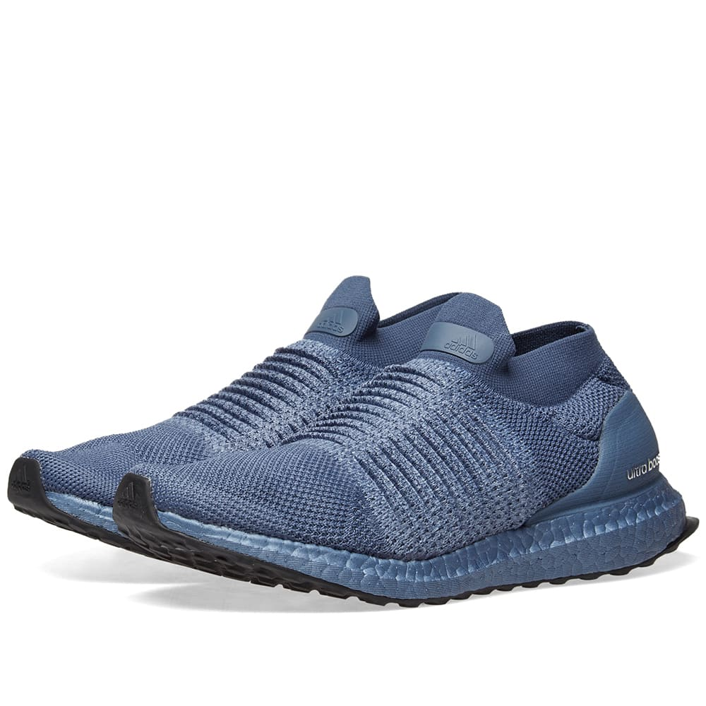 newest 228ce 97ca9 Adidas Ultra Boost Laceless W Tech Ink   END.