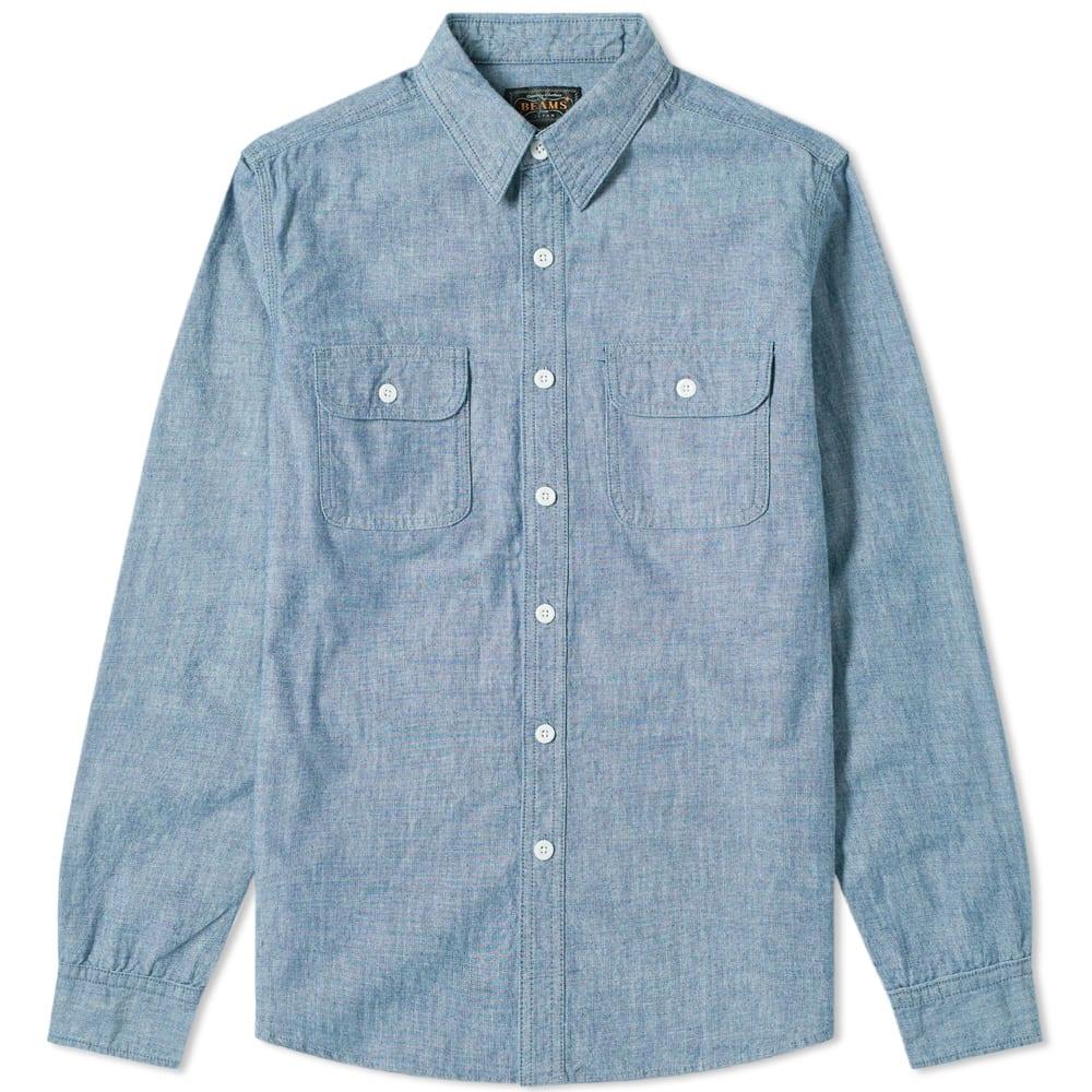 Beams Plus Chambray Work Shirt