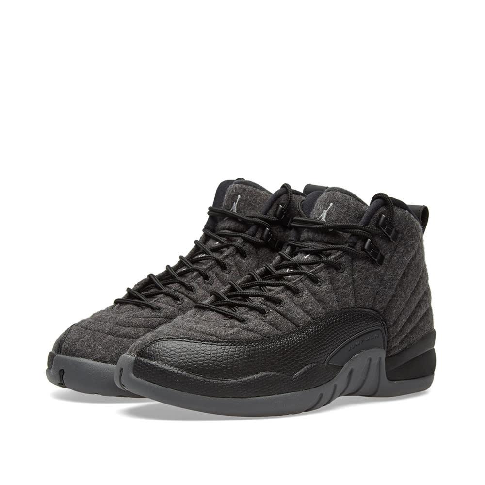Nike Air Jordan 12 Retro Wool BG Dark