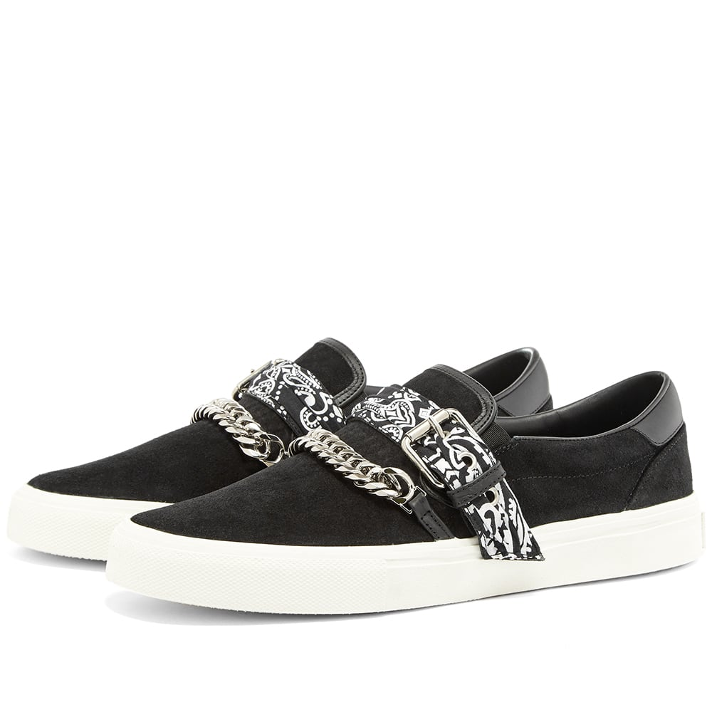 Amiri Bandana Buckle Slip On by Amiri