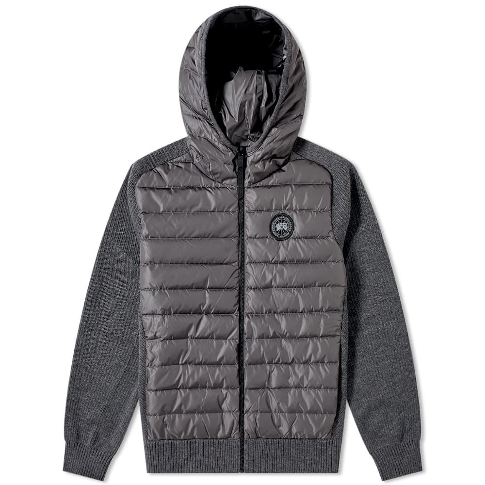 Canada Goose Black Label Hybridge Knit Reversible Hoody