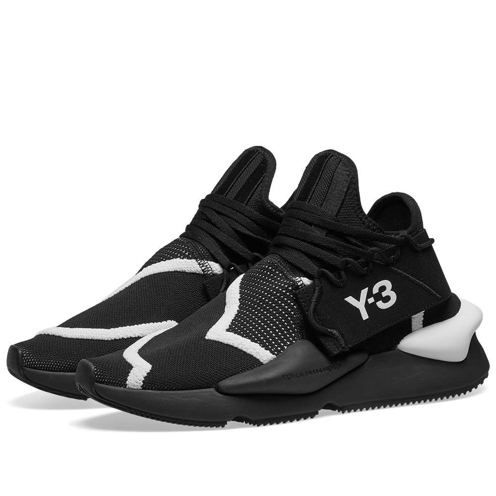 Y-3 Kaiwa Knit Black \u0026 White | END.